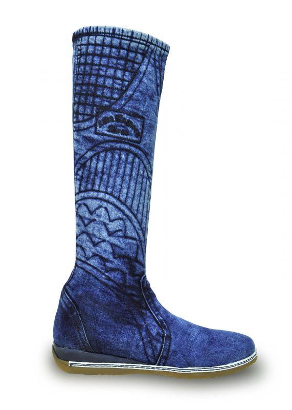 kožená a atestovaná obuv Riflové kozačky EMANI 5028 Starbluemoon