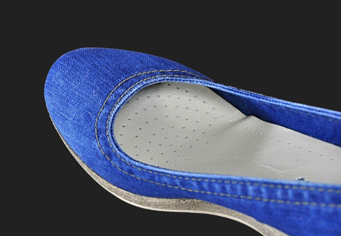 9fa7b1c31cd6 kožená a atestovaná obuv Riflové lodičky na klínku