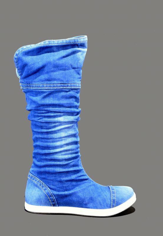 kožená a atestovaná obuv Riflové nazouvací kozačky 340 Ersax