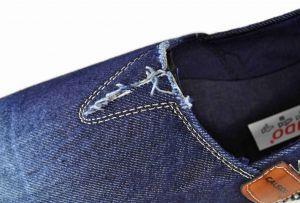 kožená a atestovaná obuv Riflové pánské mokasíny 2689 Calsido
