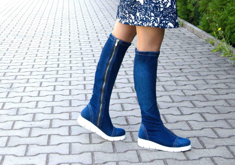 kožená a atestovaná obuv Riflové kozačky Emani 01.09 na platformě