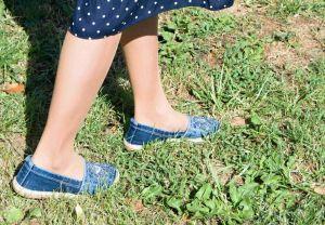 kožená a atestovaná obuv Riflové mokasíny s kamínkami Emani