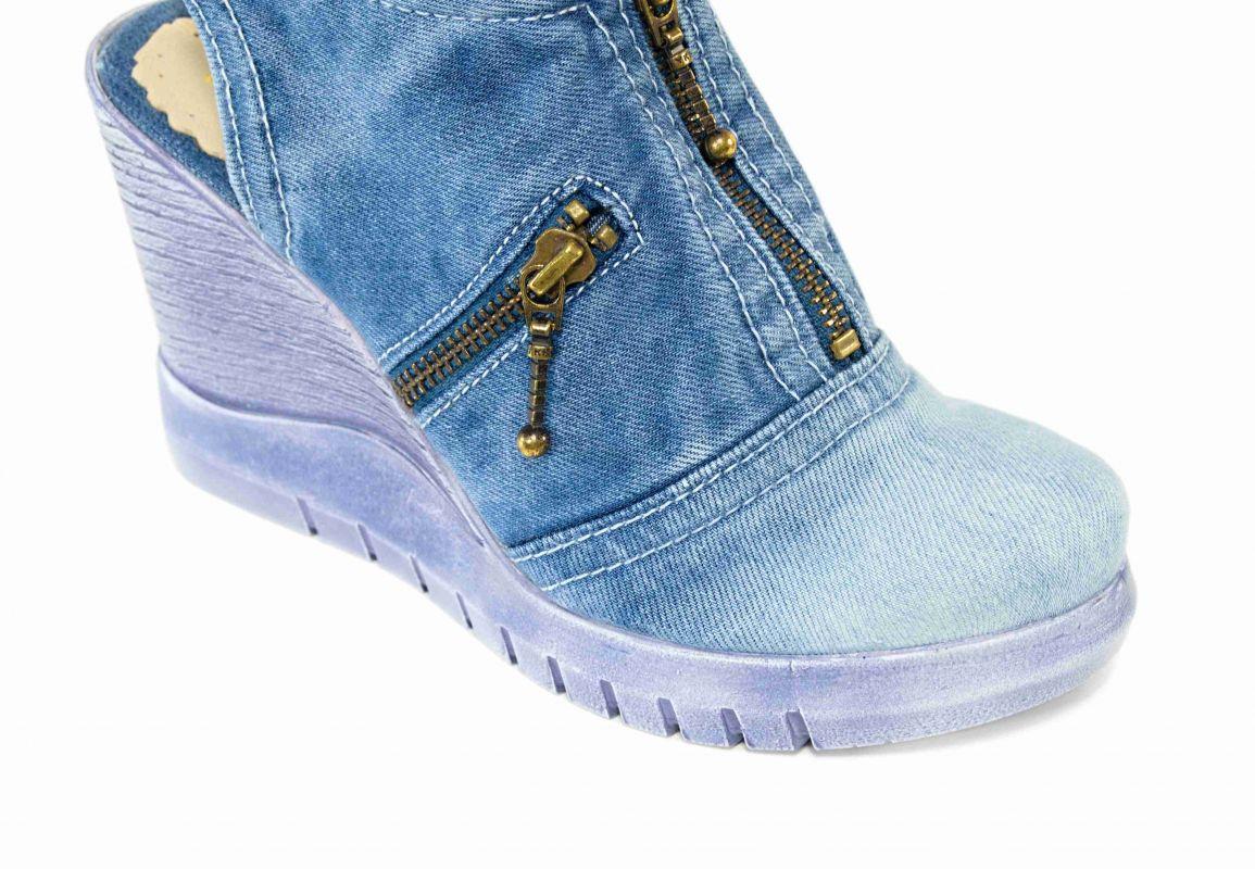 70f900b4cd50 kožená a atestovaná obuv Riflové sandale Star-Bluemoon 930 na platformě  Starbluemoon