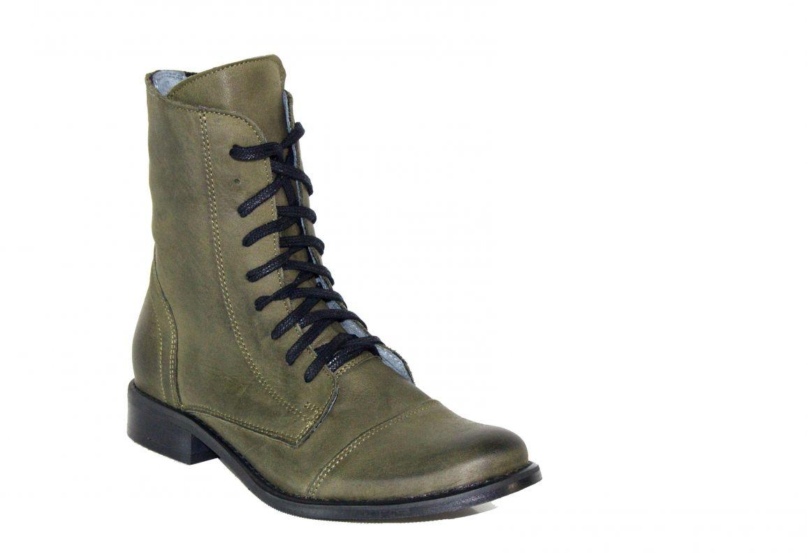 """kožená a atestovaná obuv Kotníkové kožené botky """"819"""" - 35 Exquisite"""