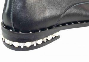 kožená a atestovaná obuv Polobotky Jewel 602 Donna Style