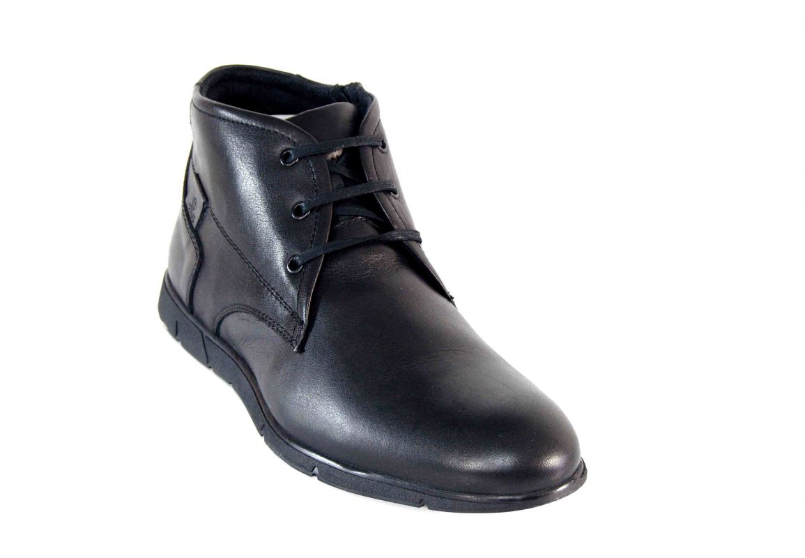 kožená a atestovaná obuv Pánské kotníková obuv Paulcruz