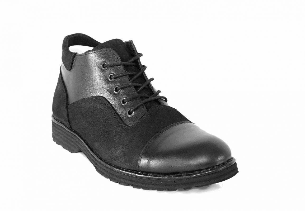 kožená a atestovaná obuv Pánské kotníková obuv Fadli Mall Paulcruz