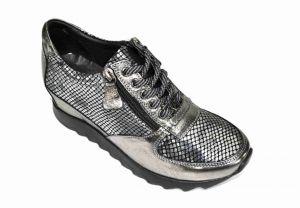Sneakersy Alpino platina 0387 na klínku