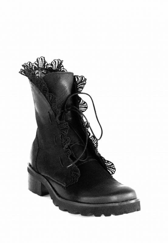 """kožená a atestovaná obuv Luxusní kožené kotníčkové boty """"EXCLUSIVE ROBERTO"""" 1013"""