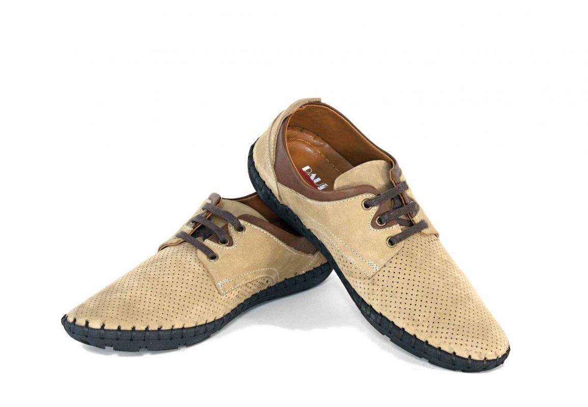 921b21ad1c kožená a atestovaná obuv Pánské ležérní kožené boty PAUL CRUZ s černou  podešví Paulcruz