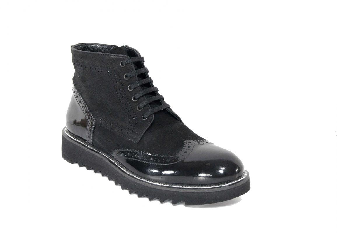 kožená a atestovaná obuv Kotníková obuv AGNEROSI II Venga