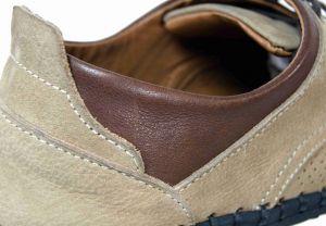 kožená a atestovaná obuv Pánské ležérní kožené boty PAUL CRUZ s černou podešví Paulcruz