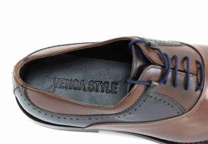 kožená a atestovaná obuv Vycházkové kožené polobotky VENGE STYLE 2003 Venga