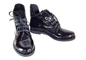kožená a atestovaná obuv Polokozačky Great Balaban
