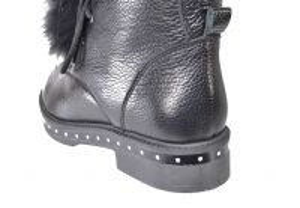 kožená a atestovaná obuv Polokozačky Ilhan Balaban
