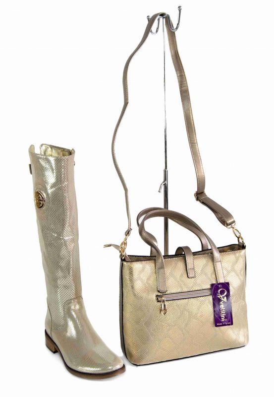 """kožená a atestovaná obuv SET- perforované luxusní kožené kozačky + kabelka"""" EXCLUSIVE ROBERTO"""""""