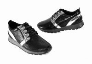 kožená a atestovaná obuv Sneakersy Donna Style 1995