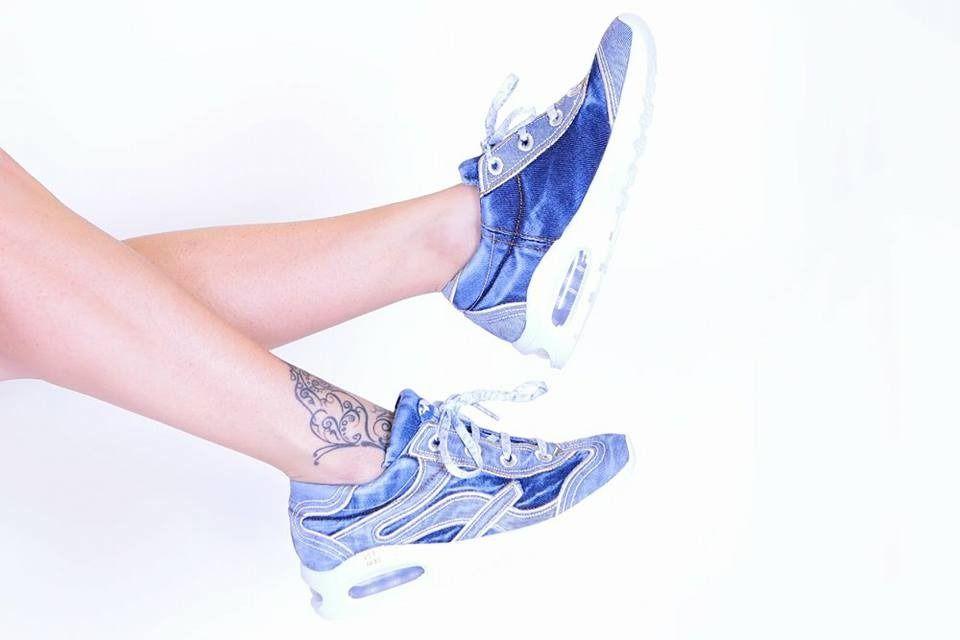 """kožená a atestovaná obuv Originální Jeans tenisky """"STAR BLUEMOON"""" s bílou nápaditou podrážkou 831 Starbluemoon"""