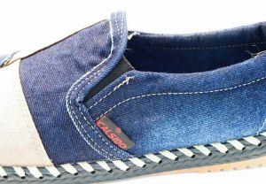 kožená a atestovaná obuv Riflové pánské mokasíny 841 Calsido