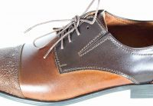 "kožená a atestovaná obuv Pánské luxusní kožené polobotky ""LAVAGGIO"" LA-332 v hnědých odstínech"