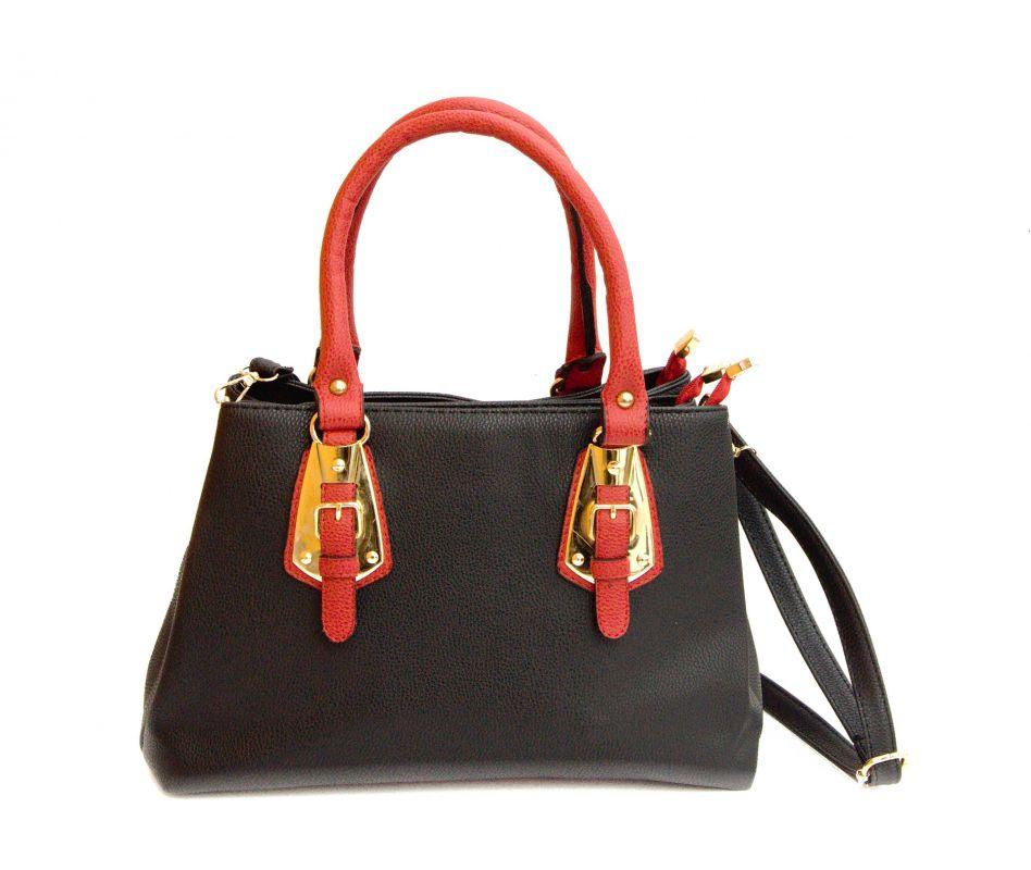 333e69dd98e kožená a atestovaná obuv Černá luxusní kabelka z imitace kůže CMR CMREMRE