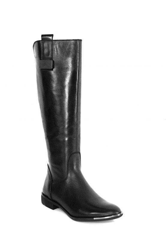 """kožená a atestovaná obuv Luxusní dámské zimní kozačky """"CheBello"""" 2101A, černé"""
