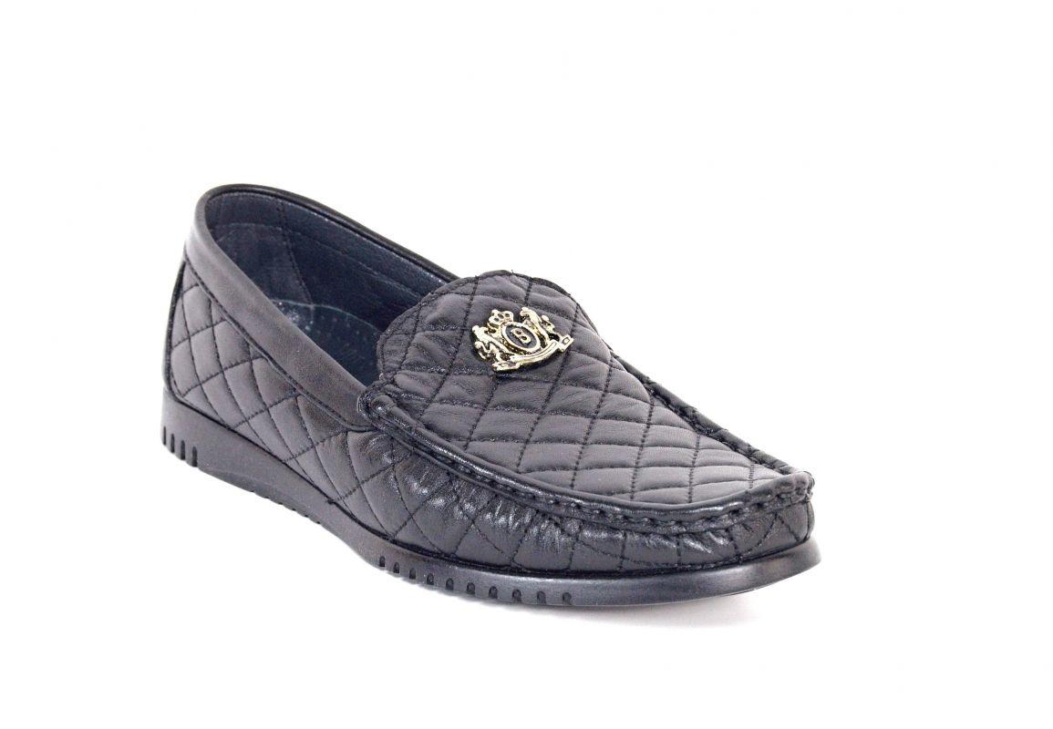 """kožená a atestovaná obuv Luxusní pánské prošívané mokasíny """"Thunderhead"""" 2302"""