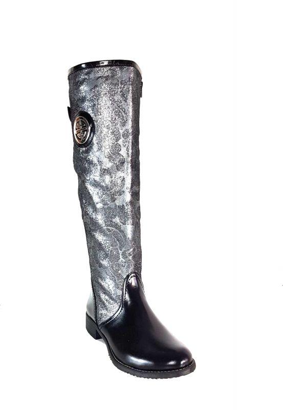 kožená a atestovaná obuv Luxusní zimní kozačky Beast Exquisite