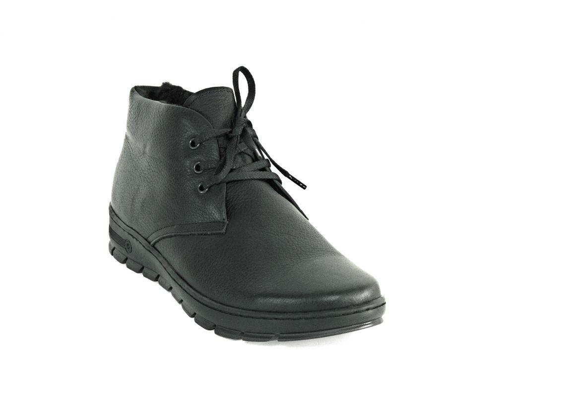 """kožená a atestovaná obuv Pánské kotníčkové zimní boty s umělým kožíškem uvnitř """"Thunderhead"""" 3"""