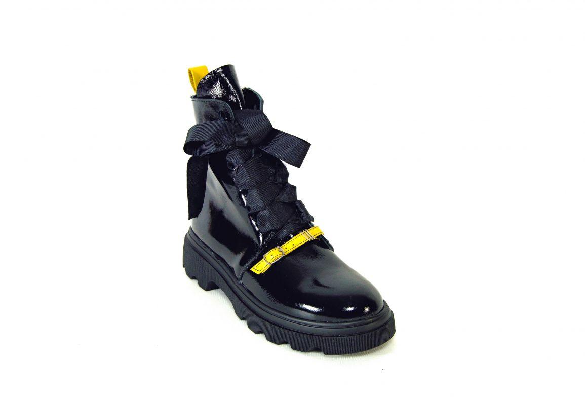 "kožená a atestovaná obuv Originální kotníčkové kožené boty ""Z-039"" zateplené Emani"