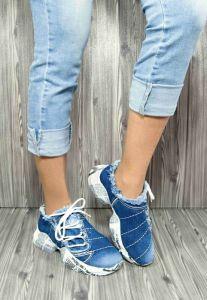 Jeans dámská obuv