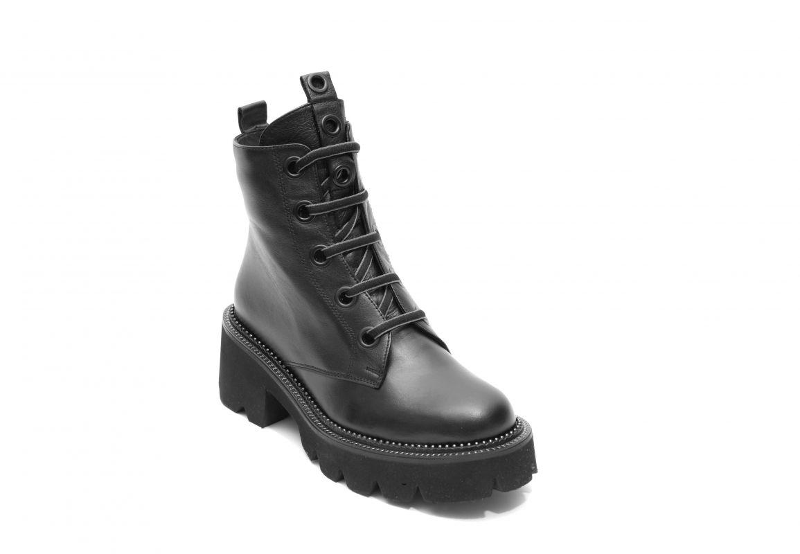 """kožená a atestovaná obuv Trendy kožené kotníkové boty BAY-CAN """"2168"""" černé ByCan Shoes"""