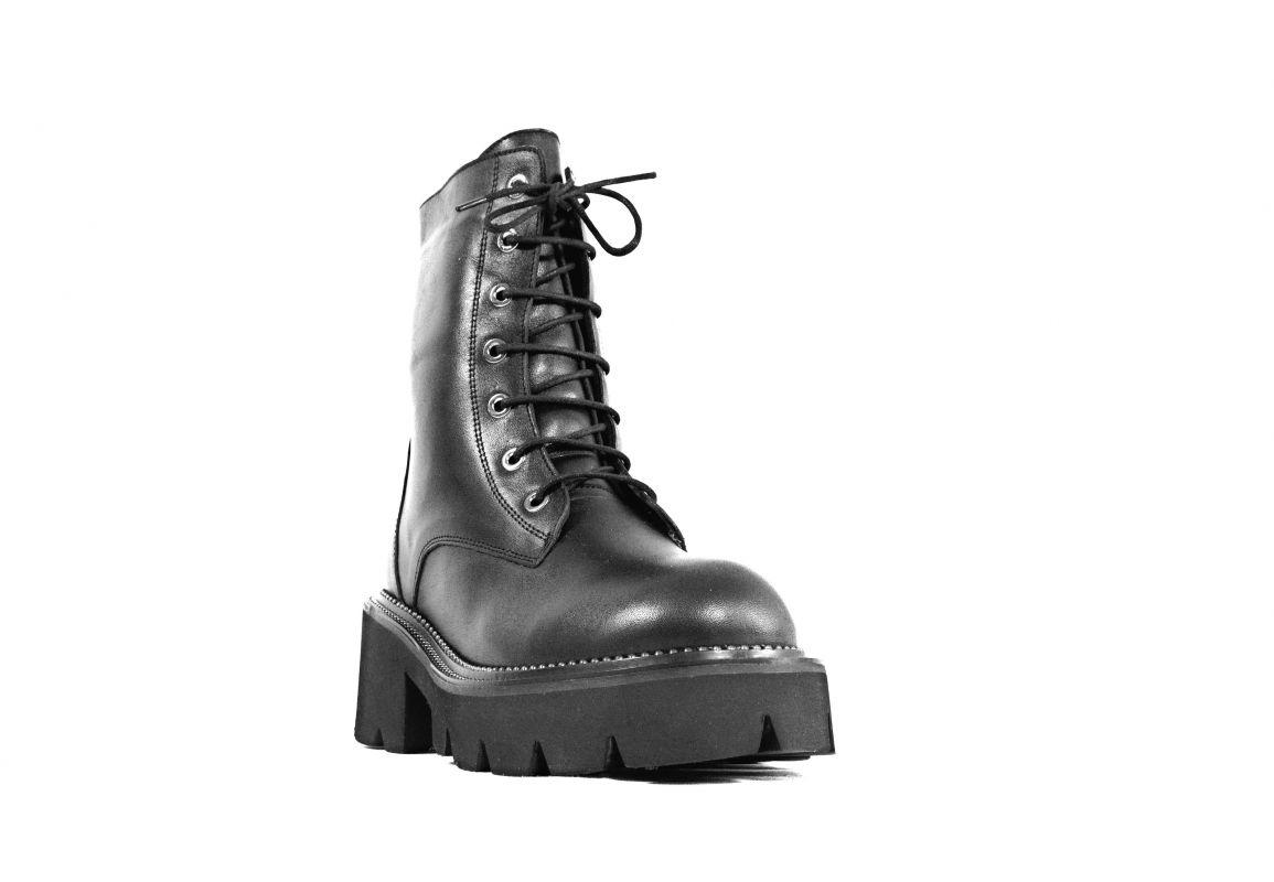 """kožená a atestovaná obuv Trendy kožené kotníkové boty BAY-CAN """"2168A"""" černé ByCan Shoes"""