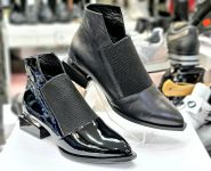 "kožená a atestovaná obuv Trendy kožené kotníkové boty BAY-CAN ""26"" černé bay can"