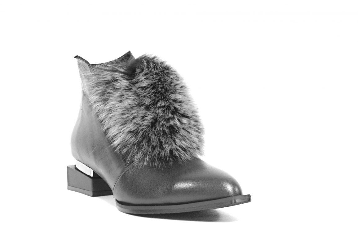 """kožená a atestovaná obuv Originální kotníčkové kožené boty """"41"""" černé By-Can"""