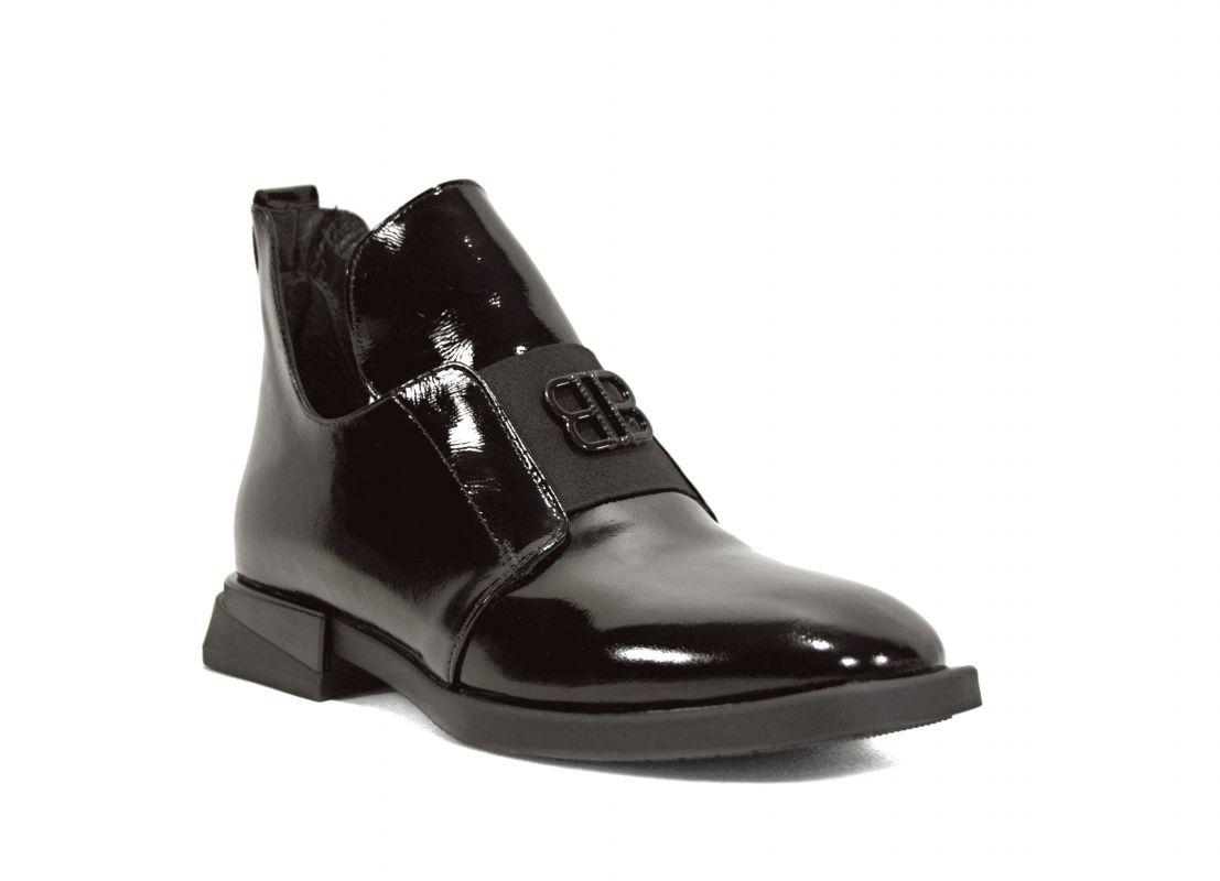 """kožená a atestovaná obuv Dámské zateplené kotníčkové kožené boty """"Marcella 1739"""", černé"""