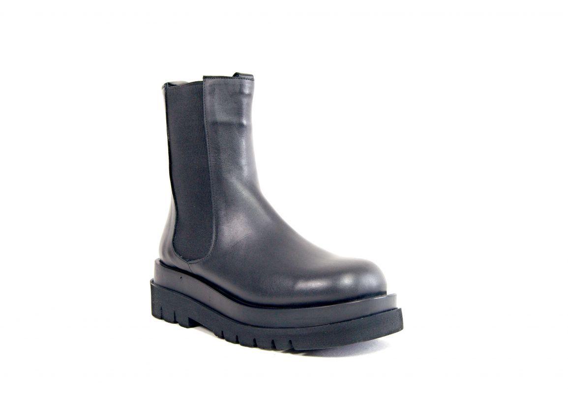 """kožená a atestovaná obuv Módní zimní kozačky boty """"626""""s gumovými vsadkami Carlo mussi"""