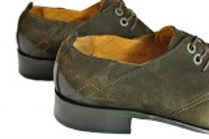 kožená a atestovaná obuv Nové pánské botky broušená kůže Tetri