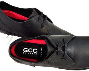kožená a atestovaná obuv Kožená pánská obuv 560 moderní klasika, černá GCC