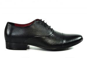 Kožená pánská obuv Lavaggio 1601, černá