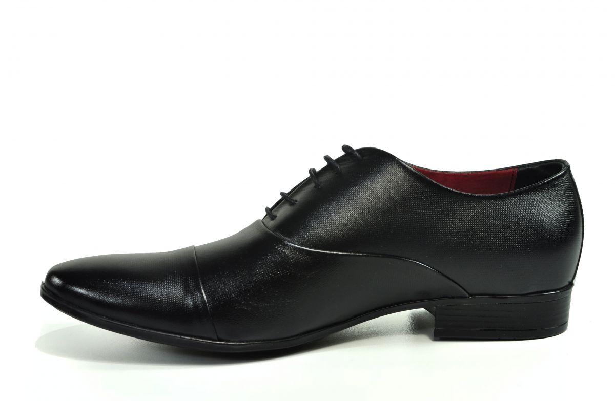 b4f74aeebb kožená a atestovaná obuv Kožená pánská obuv Lavaggio 1601