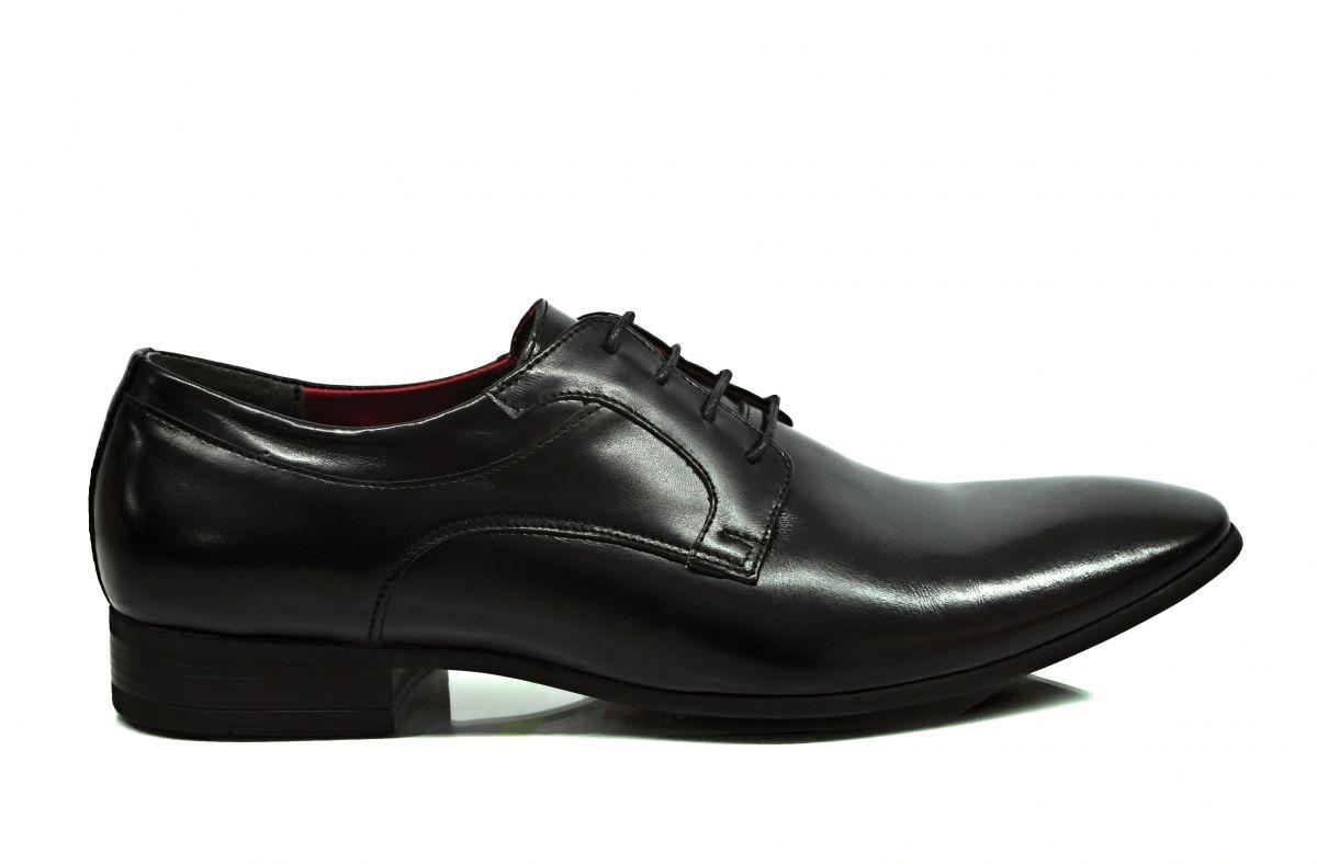 kožená a atestovaná obuv Luxusní pánské botky matné kůže New york