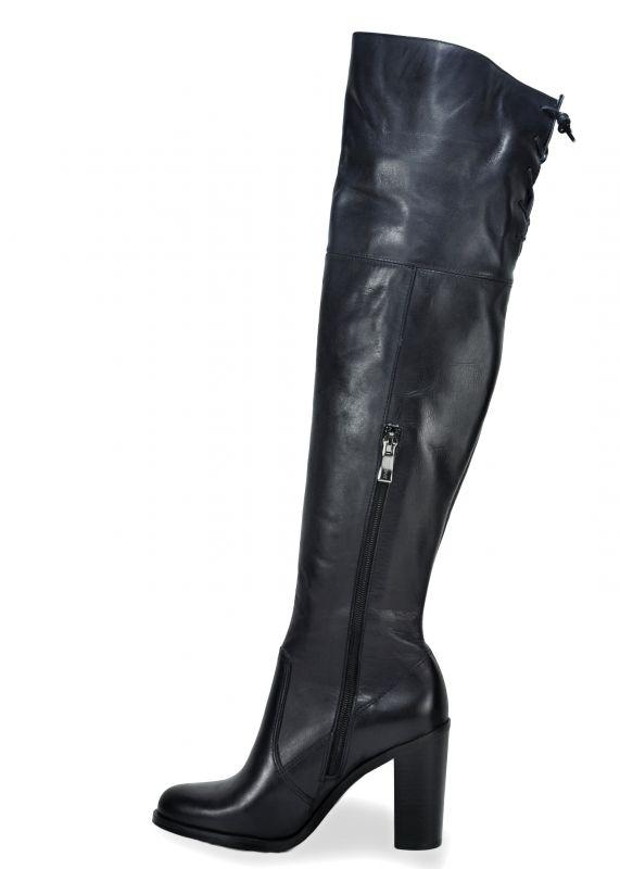 kožená a atestovaná obuv Luxusní kozačky Carinii B.3042 945e158b16