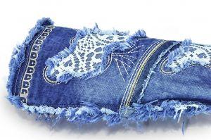 kožená a atestovaná obuv Riflové kozačky 4044A s dekorativním šitím Starbluemoon